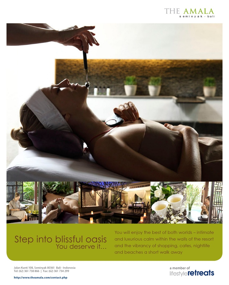 The Amala Print Ads (Magazine), Bali - 2011