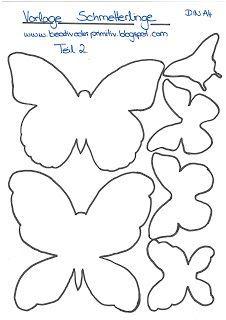 Kreativ oder Primitiv?: Schmetterling-Collage
