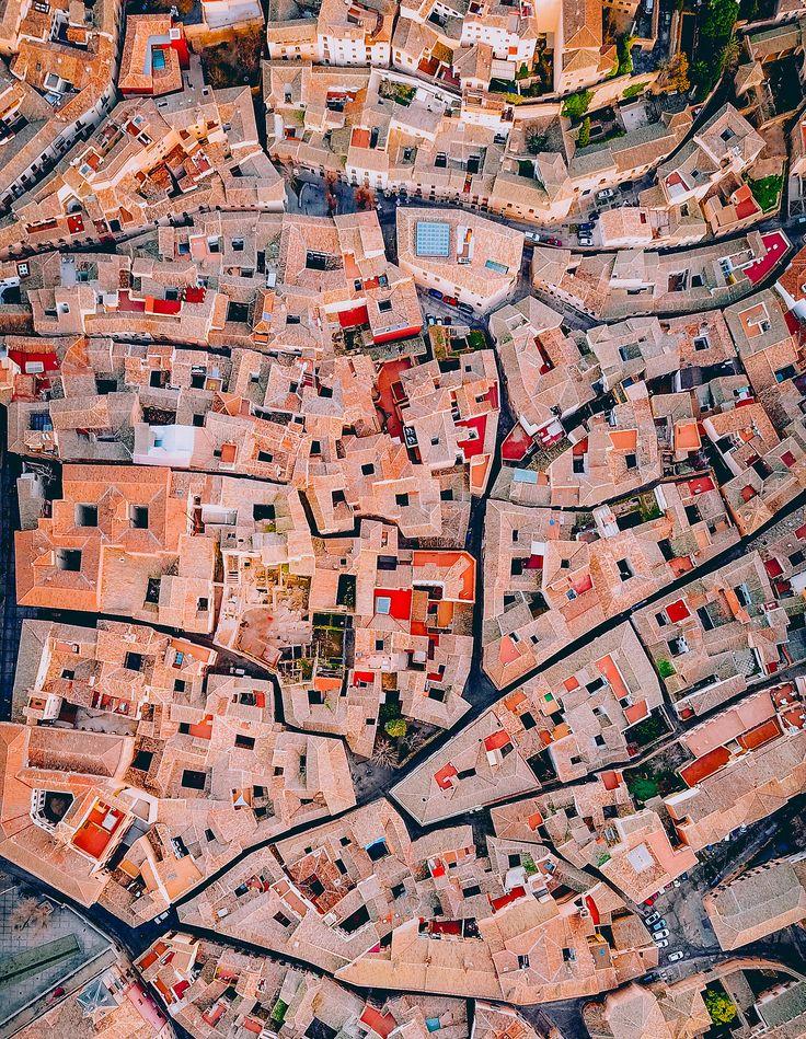 Aerial view of Toledo, Spain
