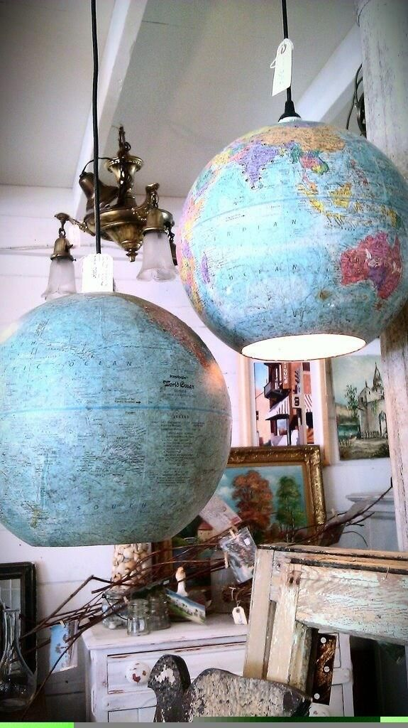 Globe into a lamp. Life Pro Tips (BestProAdvice) on Twitter