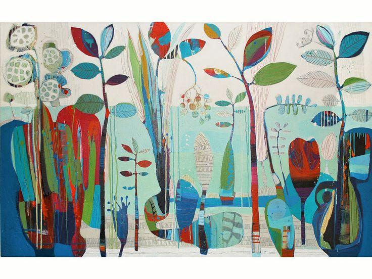 Artwork Name: Return to the Dreaming : Art by Tiffany Calder Kingston Australian Artist