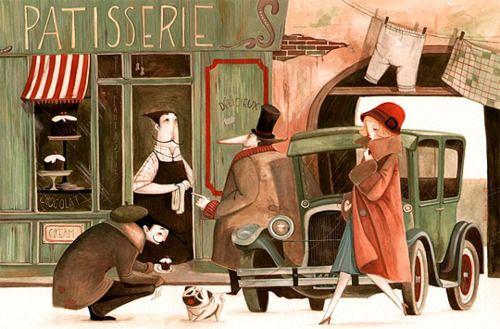art, illustration,  //  Daniela Volpari