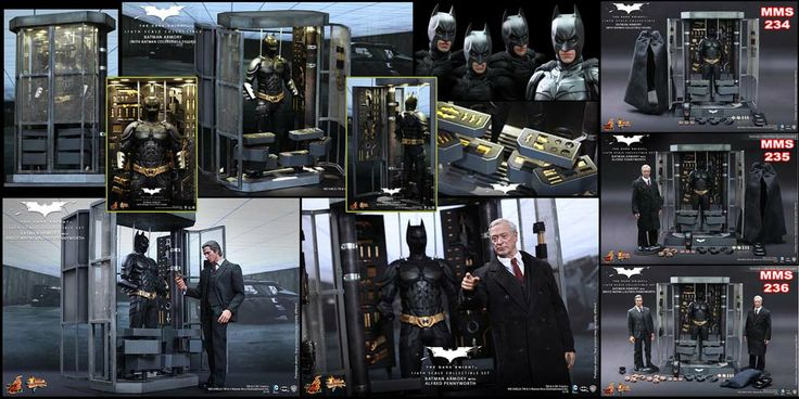 Hot Toys Batman Armory - MMS 234 Batman Armory - MMS 235 Batman Armory + Alfred - MMS 236 Batman Armory + Alfred & Bruce Wayne (All series include DX Batman Figure)  -- Deadline for Pre-Order : 09 Januari'14 -- ETA Q3 2014