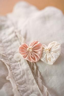 hearts  Fun with fabric yo yos: inspiration, patterns, projects and tutorials