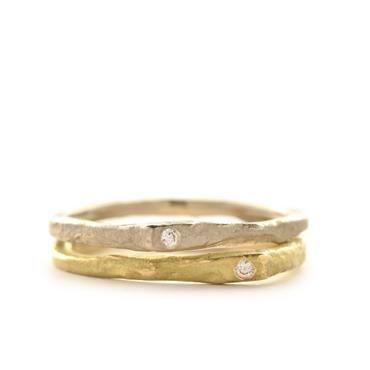Fijne ringen met diamanten | Wim Meeussen Goudsmid Antwerpen