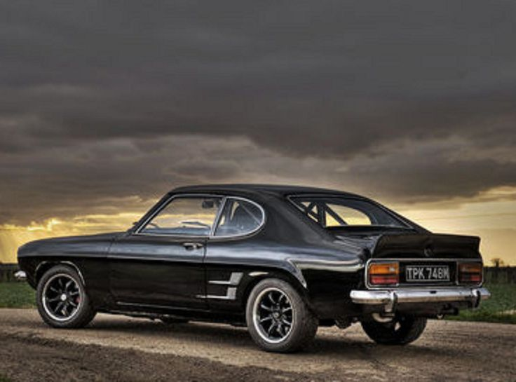 The classic Ford Capri #CarFlash My all time favourite car!