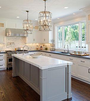 blue water home builders kitchens 2 tone kitchen white and gray kitchen perimeter cabinets white perimeter cabinets honed black coun