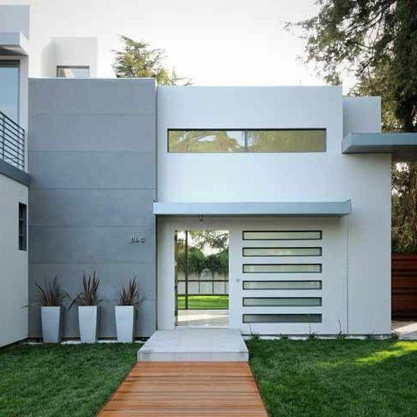 Die besten 25+ Graue fassade Ideen auf Pinterest weiße Fassade - idee fur haus renovieren grune akzente modernen raum