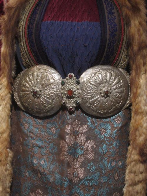 """Macedonian antique female belt buckle, called """"pafti""""."""