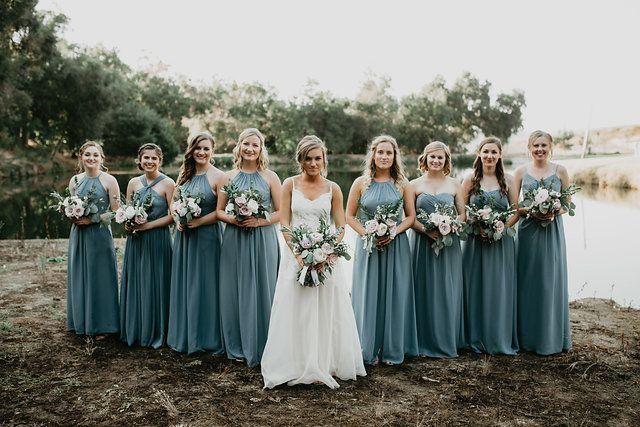 Bridesmaid Dresses Mystic By Weddington Way Bridesmaid Photoshoot Wedding Color Trends Bridesmaid