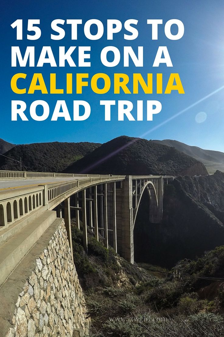 Planning a #California road trip? I've done the solo road trip 3 times in the last 5 years and I've shared 15 of my favorite stops to take along the way via @rtwgirl || http://www.rtwgirl.com/california-road-trip-stops/
