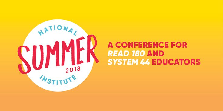 National Summer Institute is Back | READ 180 Community