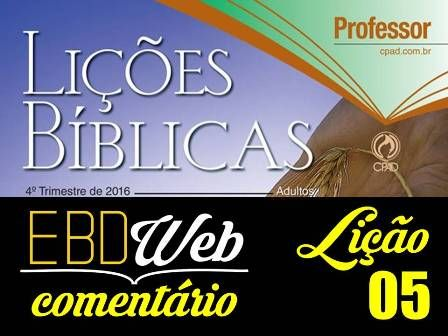Slides para a lição 05: As Consequências das Escolhas Precipitadas, elaborados pelo Pr. Natalino das Neves.