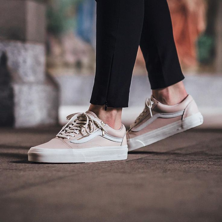 Vans Old Skool - Whispering Pink/Blanc