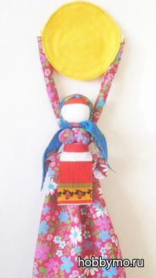 Традиционная Кукла Домашняя Масленица своими руками