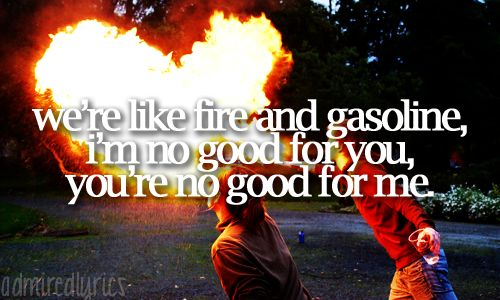 Sounds like me and Kevin sometimes :( when we're good you know we're great, yet we can be like fire and gasoline at times