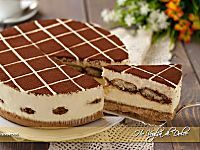 Cheesecake al Tiramisù senza forno | Ho Voglia di Dolce