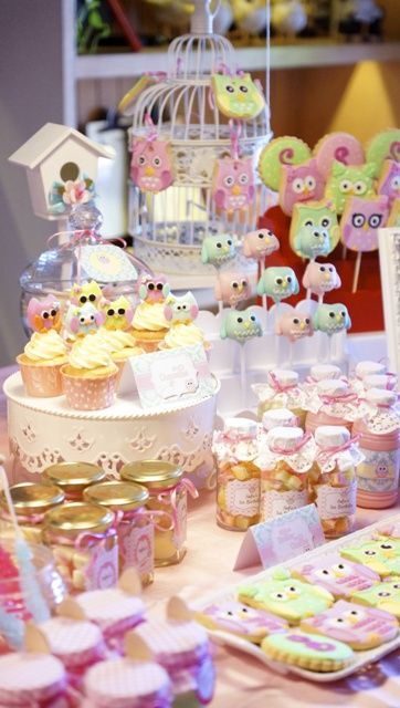 Sofie's Owl Themed Party: Sweet treats