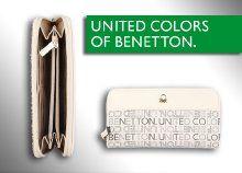 Rendkívül mutatós Benetton női pénztárca 3-féle egyedülálló színben