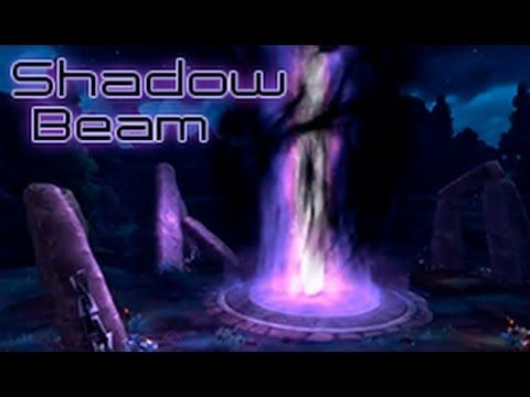 This is the beam used in the Shadowmoon Valley in-game cinematic, in the Warlords of Draenor expansion. You can see the final cinematic here: http://youtu.be...
