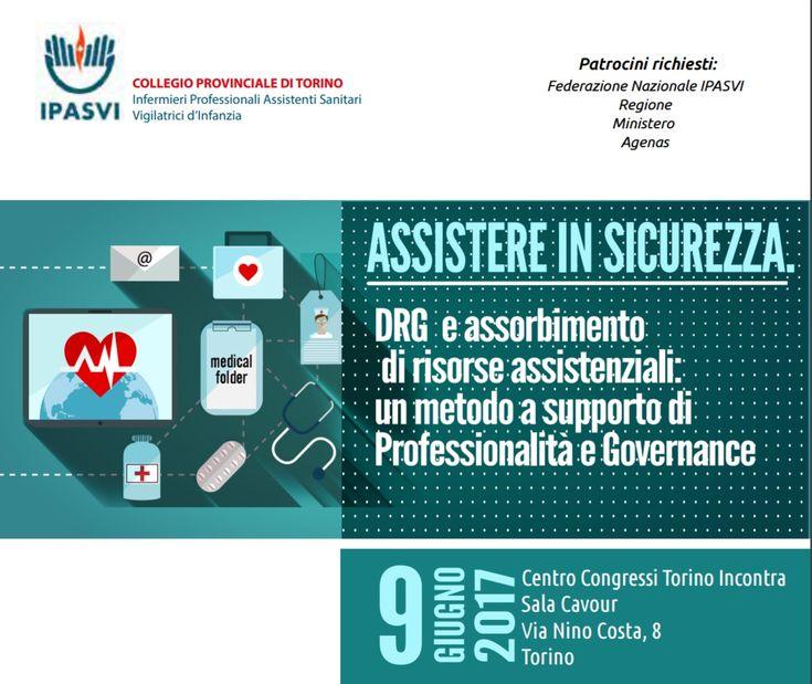 """Seguici su nursetimes.org - Giornale di informazione sanitaria -  Ipasvi Torino """"Assistere in sicurezza. DRG… #ECM_FAD_Free_ECM #NurseTimes"""