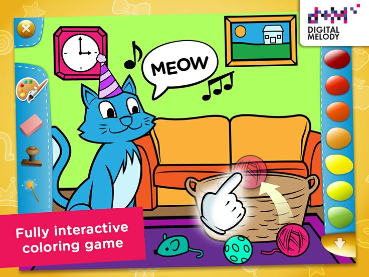 Joypa Colors - Interactive Coloring Game for kids - App ...