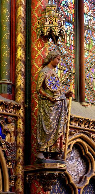 Upper Saint Chapelle-Paris,