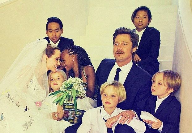 Brad and Angelina Wedding