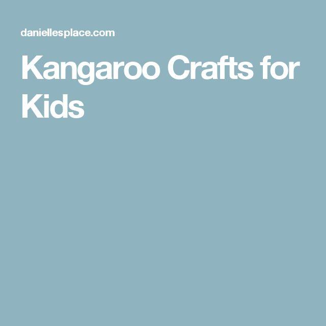 Kangaroo Crafts for Kids
