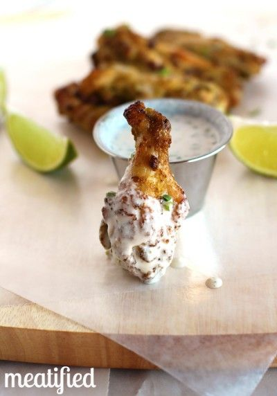 Jalapeno-Lime Chicken Wings