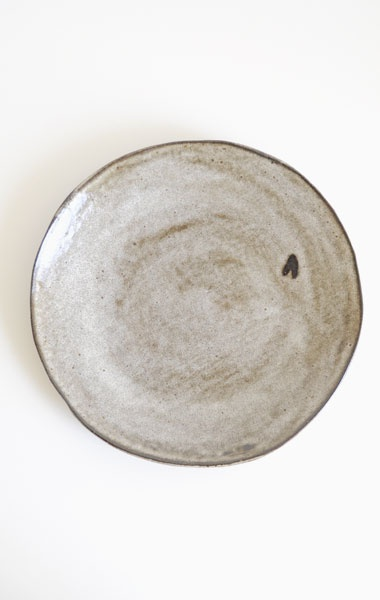 "AKIKO GRAHAM SLABE ROUND PLATE 9"" from anaise $29"