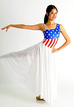 In honor of EVERYTHING American, we present to you our #theclosetscostumeoftheday. It is patriotic, beautiful, and on CLEARANCE! American Flag Dress, AFD-CL is here: https://thecostumecloset.com/…/dresses…/american-flag-dress/ #clearance #thecostumecloset #redwhiteandblue #america #afd #performanceapparel #lyrical #consignment #sheer #greatdeal