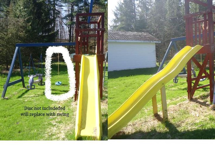 Childs large wooden playstructure