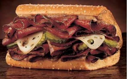 Cómo se prepara el Sandwich de pastrami de Ariel Rodriguez Palacios