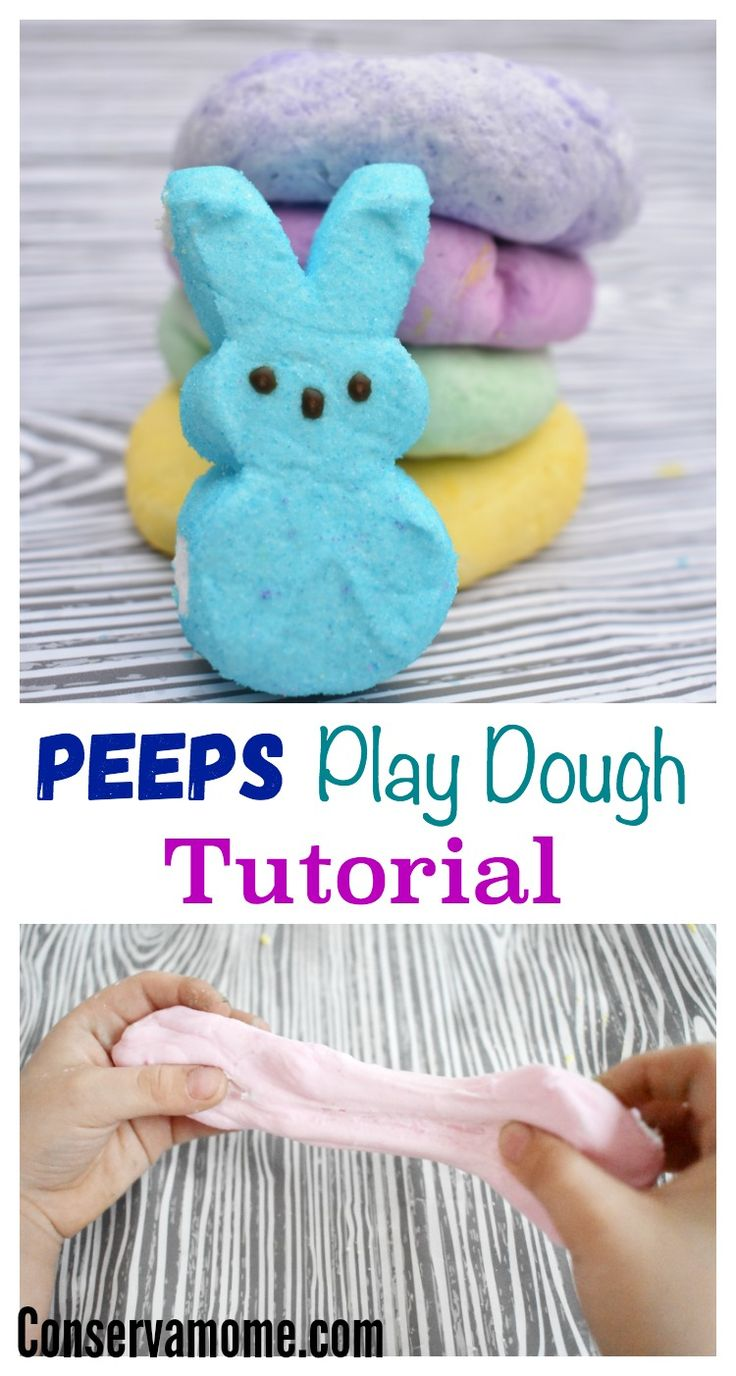 Love them or hate them, peeps are a fun and easy way to make play dough! Check out thisEasy Peeps Play Dough Recipe for your little ones to enjoy!