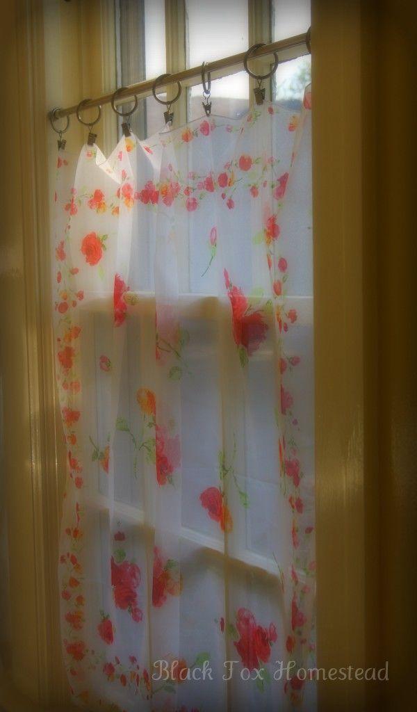Three Easy Ideas For No Sew Window Treatments Vintage