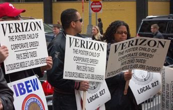 Verizon Announces More than 600 Layoffs in New England and New Jersey