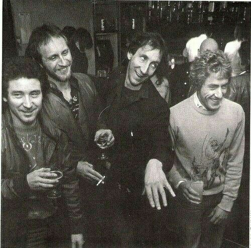 The Who  Kenney Jones John Entwistle Pete Townshend Roger Daltrey