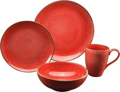 CreaTable 19993 Single-Geschirr-Set Nature Collection Mediterran für 1 Personen, rund, Steinzeug, rot (1 Set, 4-teilig) Jetzt bestellen unter: https://moebel.ladendirekt.de/kueche-und-esszimmer/besteck-und-geschirr/geschirr/?uid=a7788e2f-4cd2-5bce-90cf-5e74b62c9fee&utm_source=pinterest&utm_medium=pin&utm_campaign=boards #geschirr #heim #kueche #esszimmer #besteck