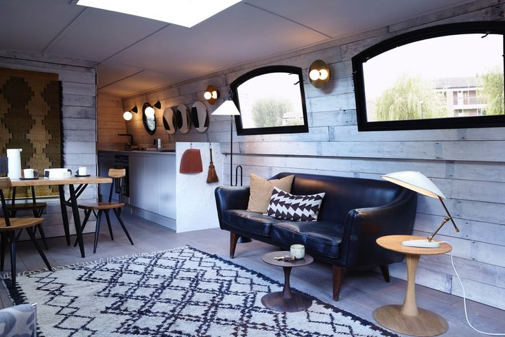Bert's Barges - amazing barge to let in London