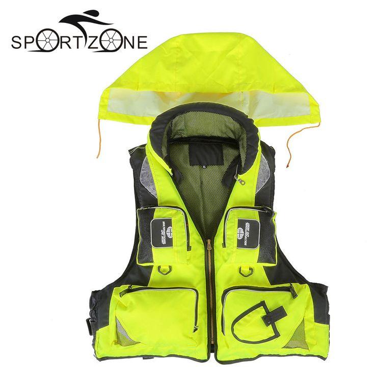 Life Vest Jacket Water Sport Safety Unisex Adult Drifting Boating Sailing Kayak #LifeVest