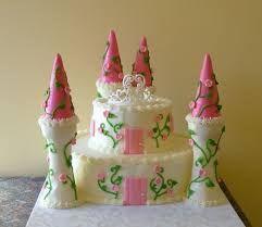 Image result for ice cream cone castle cake