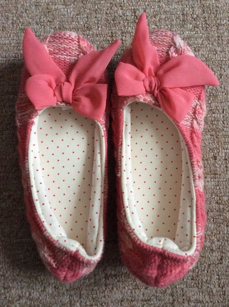 M&S Ladies Slippers Size UK4 or 6, EUR37 or 39.5 Coral mix BNWT RRP up to £10