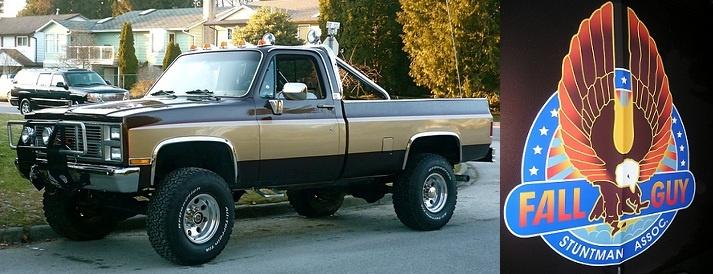 the fall guy truck lee majors pinterest trucks tvs. Black Bedroom Furniture Sets. Home Design Ideas