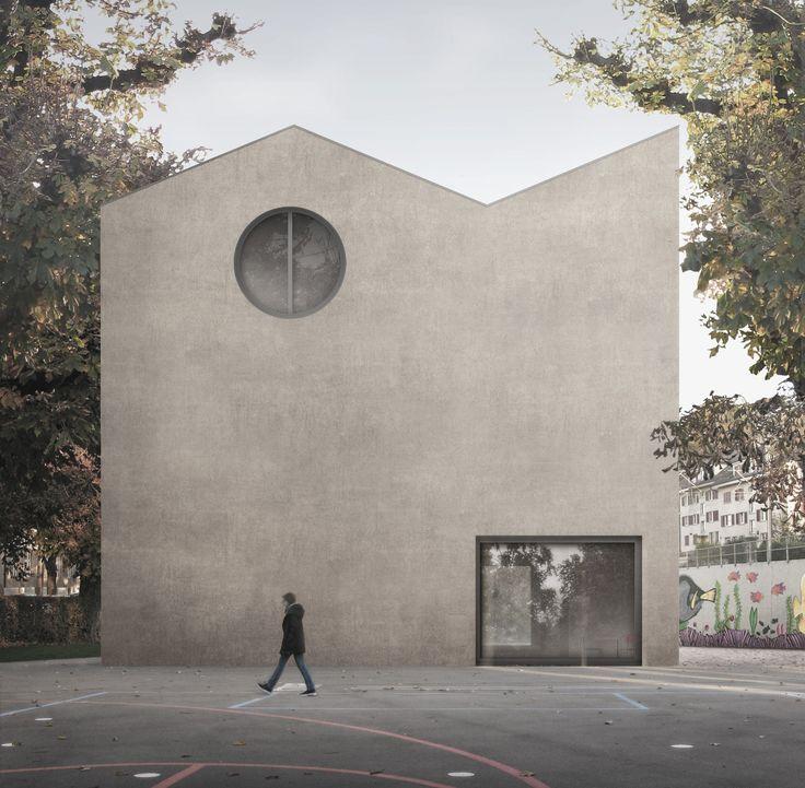 WALDRAP . Pestalozzi primary school . Bern (1)