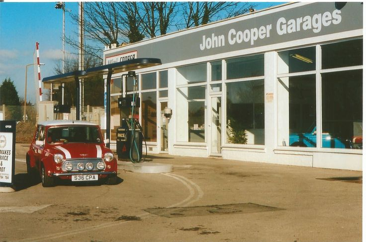John cooper garage mini pinterest john cooper and for Garage mini cooper annemasse