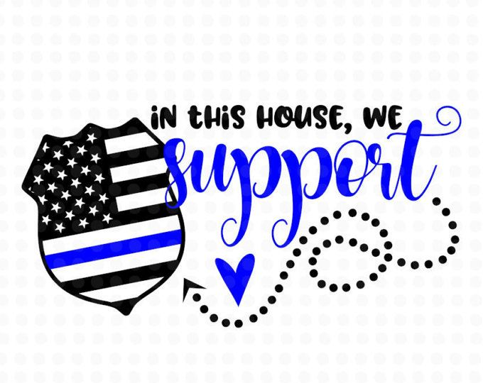 Back The Blue Svg Dxf Police Decal Police Support Etsy Police Decal Back The Blue Decal Blue Quotes