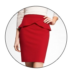 Valentine's Day is on! Check out HIGH WAIST STUDIO STRETCH PEPLUM PENCIL SKIRT on the <3 Day Gift Guide: http://express.com/giftguide