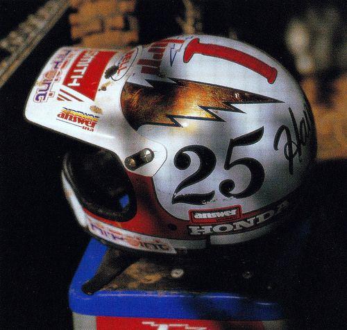 1987 Bell Helmet of Bob Hannah   Helmets, Motocross and ...