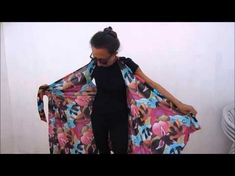 Cómo hacer un pareo sin coser - YouTube en hoe zo'n 'pareo' zelf te maken'